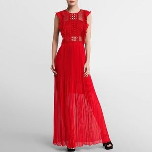 NWT RED EVENING DRESS